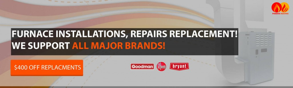 Furnace Repairs & Service Passaic County NJ